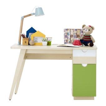 ชุดห้องนอนเด็ก โต๊ะทำงาน รุ่น Arty สีสีลายไม้ธรรมชาติ-SB Design Square