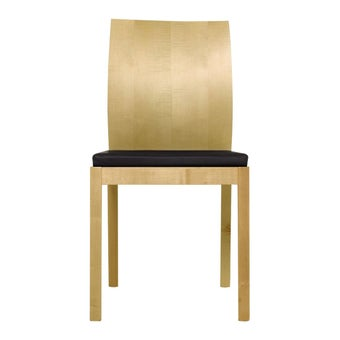 เก้าอี้ทานอาหาร เก้าอี้ไม้เบาะหนัง รุ่น Catania-SB Design Square