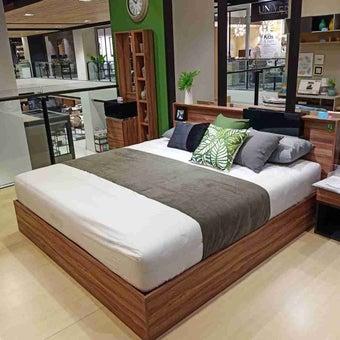 ชุดห้องนอน เตียง รุ่น Rex สีสีน้ำตาล-SB Design Square