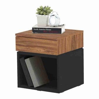 ชุดห้องนอน ตู้ข้างเตียง รุ่น Patme สีสีเทา-SB Design Square
