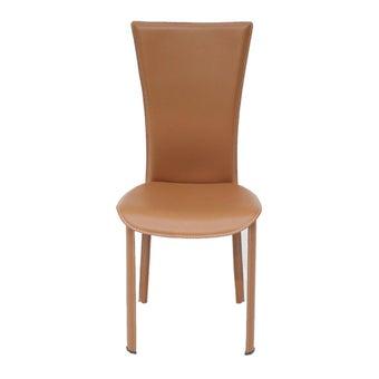 เก้าอี้ทานอาหาร เก้าอี้เหล็กเบาะหนัง รุ่น Yindee-SB Design Square
