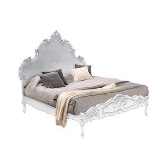 เตียงนอน รุ่น INT2674A สีเงิน