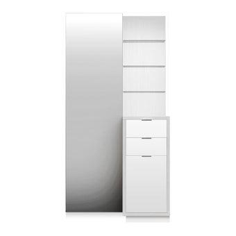 ชุดห้องนอน โต๊ะเครื่องแป้งแบบยืน รุ่น Arco สีสีขาว-SB Design Square