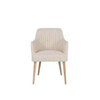 เก้าอี้ รุ่น Bina สีครีม-01