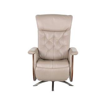 เก้าอี้พักผ่อน ขนาดเล็กกว่า 1.8 ม. รุ่น Canura สีครีม