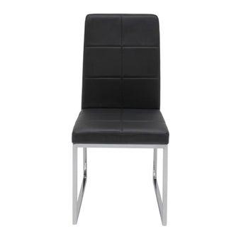 เก้าอี้ทานอาหาร เก้าอี้เหล็กเบาะหนัง รุ่น Talk-SB Design Square