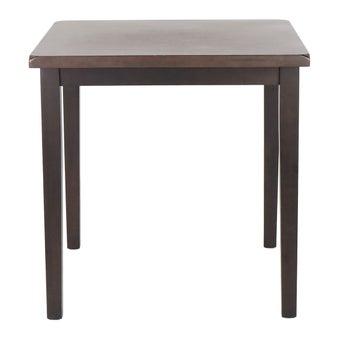 โต๊ะทานอาหาร โต๊ะอาหารไม้ล้วน รุ่น Guessสีน้ำตาล-SB Design Square