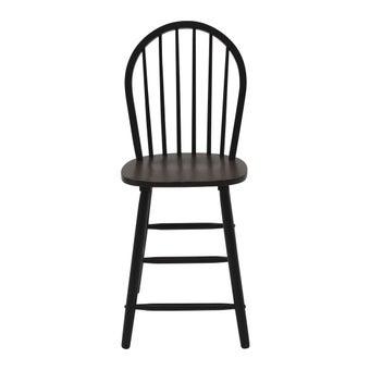 เก้าอี้ทานอาหาร เก้าอี้ไม้ล้วน รุ่น Guessสีน้ำตาล-SB Design Square