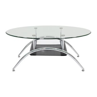 โต๊ะกลาง โต๊ะกลางเหล็กท๊อปกระจก รุ่น Season-SB Design Square