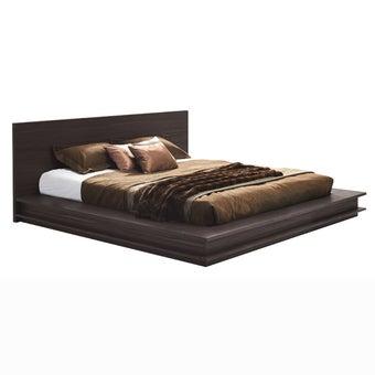 เตียงนอน ขนาด 6 ฟุต รุ่น Zen สีเข้มลายไม้ธรรมชาติ-04