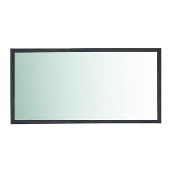ชุดห้องนอน กระจกแบบติดผนัง รุ่น Zen สีสีเข้มลายไม้ธรรมชาติ-SB Design Square