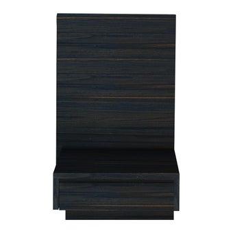 ชุดห้องนอน ตู้ข้างเตียง รุ่น Zen สีสีเข้มลายไม้ธรรมชาติ-SB Design Square