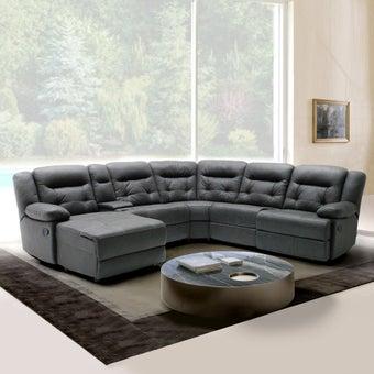 เก้าอี้พักผ่อน รุ่น U-Family สีเทา 03