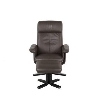 เก้าอี้พักผ่อน ขนาดเล็กกว่า 1.8 ม. รุ่น Camber สีน้ำตาล