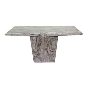 โต๊ะทานอาหาร โต๊ะอาหารหินล้วน รุ่น Flighto-SB Design Square
