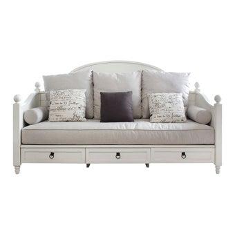 โซฟาผ้า โซฟา 3 ที่นั่ง รุ่น Carnival สีสีขาว-SB Design Square