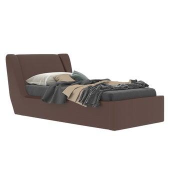เตียงนอน ขนาด 3.5 ฟุต รุ่น Cira สีทองแดง1