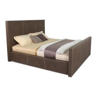 เตียงนอน ขนาด 6 ฟุต รุ่น Calibre สี Smoke Grey-06