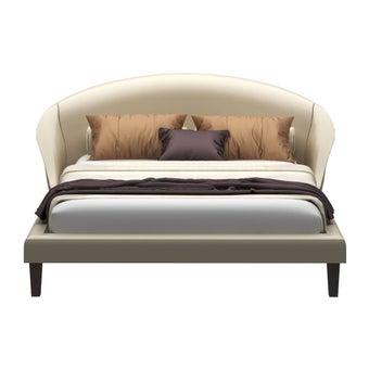 ชุดห้องนอน เตียง รุ่น Uranus สีสีครีม-SB Design Square