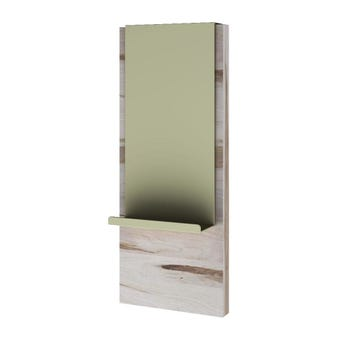 ชุดห้องนอน ตู้ข้างเตียง รุ่น Verre สีสีอ่อนลายไม้ธรรมชาติ-SB Design Square