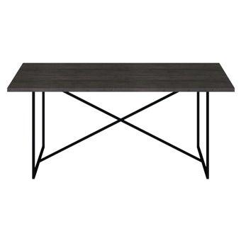 โต๊ะอาหาร รุ่น Restrol Plus สีเข้มลายไม้ธรรมชาติ3