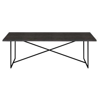 โต๊ะอาหาร รุ่น Restrol Plus สีเข้มลายไม้ธรรมชาติ01