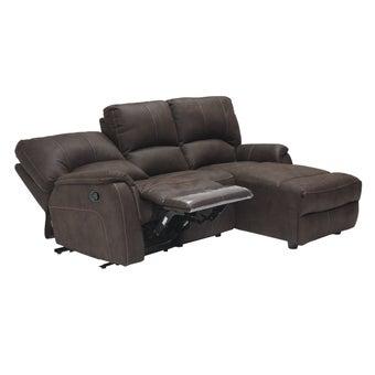 เก้าอี้พักผ่อนผ้า เก้าอี้พักผ่อนเข้ามุม รุ่น Maya สีสีน้ำตาล-SB Design Square