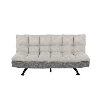 โซฟาผ้า โซฟาเบด รุ่น Uday สีสีเทา-SB Design Square