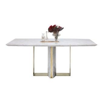 โต๊ะอาหาร รุ่น Foray สีขาว-00