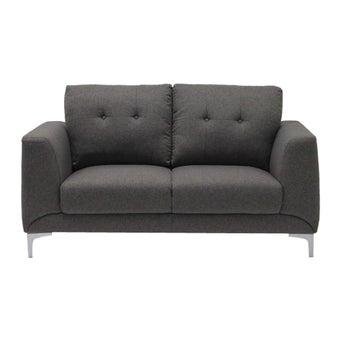 โซฟาผ้า โซฟา 2 ที่นั่ง รุ่น Content สีสีน้ำตาล-SB Design Square