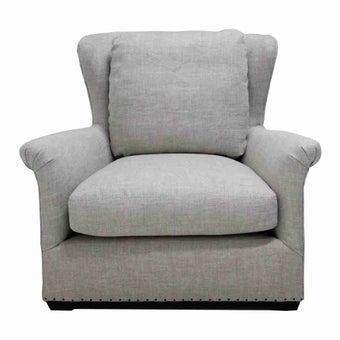 โซฟาผ้า โซฟา 1 ที่นั่ง รุ่น 477503-100 สีสีเทา-SB Design Square