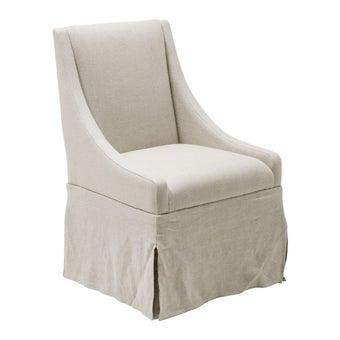 เก้าอี้ รุ่น 645735#2 สีครีม-01