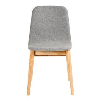 เก้าอี้ทานอาหาร เก้าอี้ไม้เบาะผ้า-SB Design Square