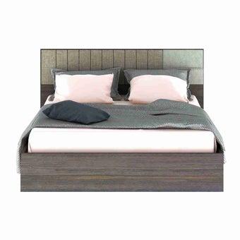 ชุดห้องนอน เตียง รุ่น Econi สีสีเข้มลายไม้ธรรมชาติ-SB Design Square