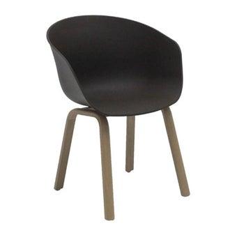 เก้าอี้ทานอาหาร เก้าอี้เหล็กล้วน รุ่น Levy-SB Design Square