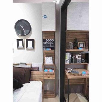 ชุดห้องนอน ตู้ข้างเตียง รุ่น Bricko สีสีน้ำตาล-SB Design Square