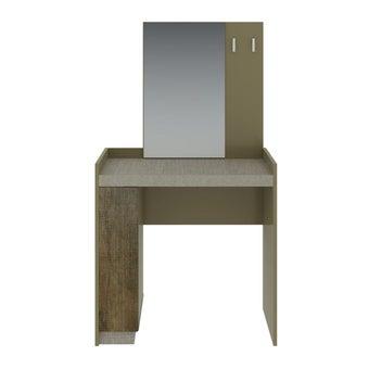ชุดห้องนอน โต๊ะเครื่องแป้งแบบนั่ง รุ่น Econi สีสีน้ำตาลอ่อน-SB Design Square