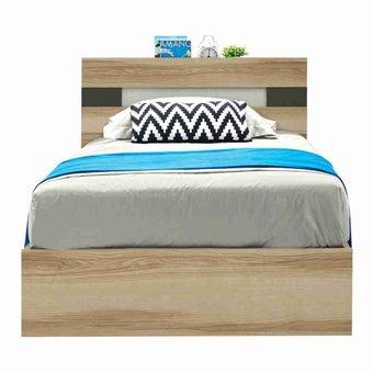ชุดห้องนอน เตียง รุ่น Harper สีสีโอ๊ค-SB Design Square