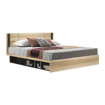 ชุดห้องนอน เตียง รุ่น Patinal สีสีโอ๊ค-SB Design Square
