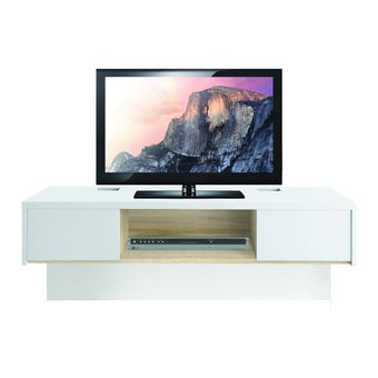 ชุดวางทีวี ไซด์บอร์ด รุ่น Urbani สีสีโอ๊ค-SB Design Square