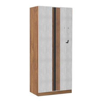 ชุดห้องนอน ตู้เสื้อผ้าบานเปิด รุ่น Lepino สีสีน้ำตาล-SB Design Square
