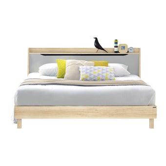 ชุดห้องนอน เตียง รุ่น Backus สีสีโอ๊ค-SB Design Square
