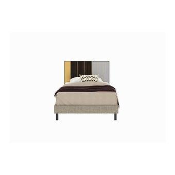 เตียงนอน ขนาด 3.5 ฟุต รุ่น Aureus สีอ่อน3