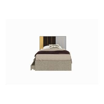 เตียงนอน ขนาด 3.5 ฟุต รุ่น Aureus สีอ่อน1