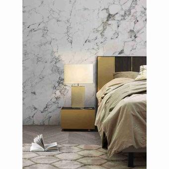 ชุดห้องนอน ตู้ข้างเตียง รุ่น Aureus สีสีเข้มลายไม้ธรรมชาติ-SB Design Square