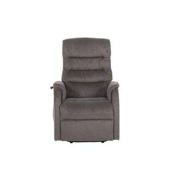 เก้าอี้พักผ่อนผ้า เก้าอี้พักผ่อนปรับระดับไฟฟ้า 1 ที่นั่ง รุ่น Colin สีสีน้ำตาล-SB Design Square