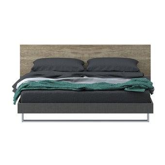 ชุดห้องนอน เตียง รุ่น Onyx สีสีเทา-SB Design Square
