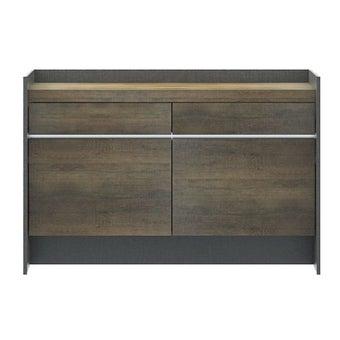 ชุดห้องนอน โต๊ะเครื่องแป้งแบบนั่ง รุ่น Onyx สีสีเทา-SB Design Square
