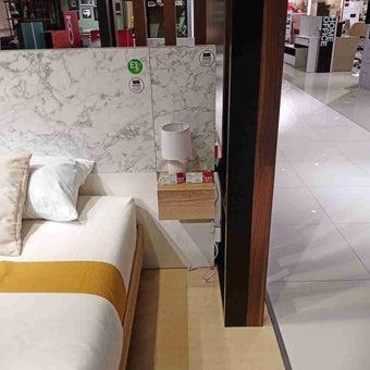 ชุดห้องนอน ตู้ข้างเตียง รุ่น Marzera สีสีโอ๊ค-SB Design Square