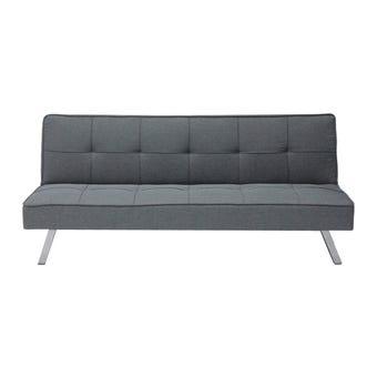 โซฟาผ้า โซฟาเบด รุ่น Loder สีสีเทา-SB Design Square